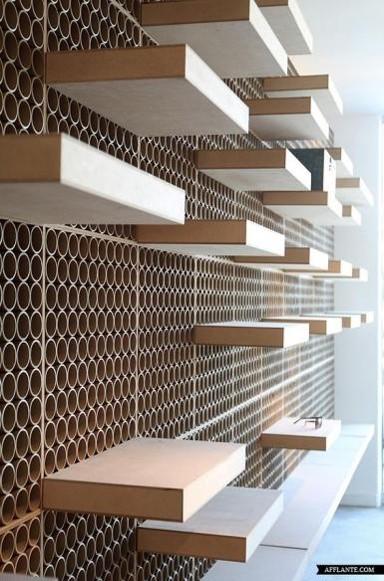 honeycomb-display-shelves